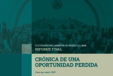 Parlamentarias 2020 Informe Final