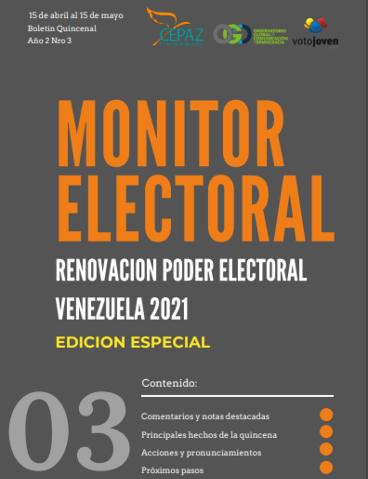 Monitor Electoral, Año2 #3